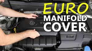 nissan 370z intake manifold mk7 european intake manifold cover diy youtube