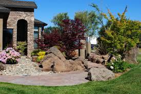 great boulder landscaping ideas landscaping ideas using boulders