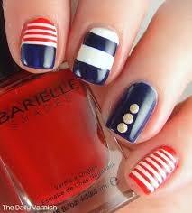 nautical nail art barielle u2013 the daily varnish