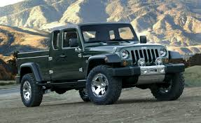 car jeep report jeep could actually build wrangler based pickup u2013 news