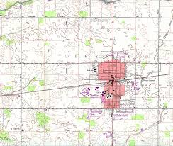 Lancaster Ohio Map by