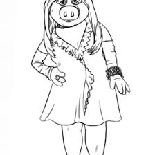 coloring pages piggy kids drawing coloring pages marisa