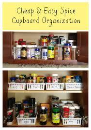 kitchen spice organization ideas kitchen organization cheap and easy spice cupboard cupboard