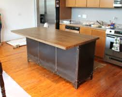 buffet kitchen island kitchen island etsy