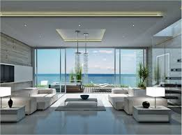 Coastal Living Room Design Ideas by