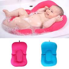 Baby Seat For Bathtub Baby Bath Tub Pillow Pad Lounger Air Cushion Floating Soft Seat