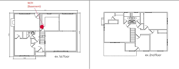 what is wh in floor plan plumbing home run remote manifold or other design