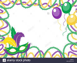 mardi gras picture frame mardi gras colored frame with a mask and balloons isolated on