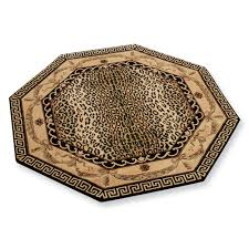 Round Rugs Modern by Round Leopard Print Rug Rugs Ideas