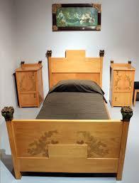 letti e comodini file ugo ceruti stanza da letto per signorina 1902 circa letto
