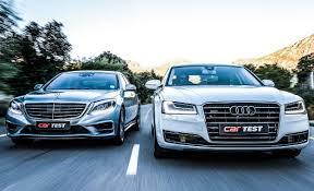 audi mercedes audi a8 vs mercedes s class interior and exterior comparison