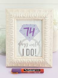 Wedding Countdown Diy The Most Adorable