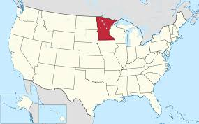 Study United States Map by Minnesota Is The Best State To Raise A Family In Study Says