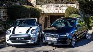 lavender jeep audi a1 v mini cooper comparison review photos 1 of 65