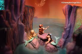 neverland mermaids hanging out in mermaid lagoon on peter pan ride