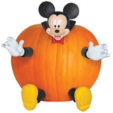 mickey and minnie halloween decorations amazon com pumpkin push in mickey toys u0026 games