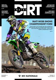 mad mike motocross inside dirt issue 9 by mx nationals issuu