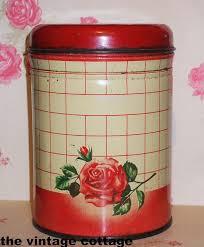 vintage metal kitchen canisters 192 best canister images on vintage kitchen