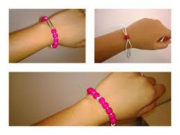 elastic bead bracelet images Elastic bead bracelet 5 steps jpg