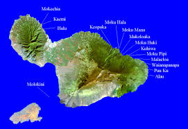 Maui Hawaii Map Maui Offshore Islets Natural Areas Of Hawaii