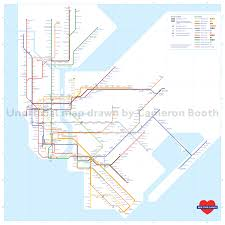 Manhattan Map Subway by Map Mashup Take The London Underground To The Nyc Subway 6sqft