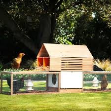 super stylish chicken coops sunset