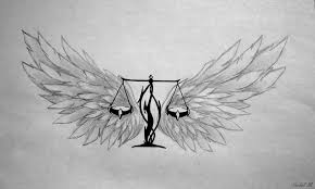 beautiful wing libra tattoo design tattooshunter com