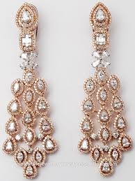 gold high jewellery pear diamond heavy earrings buy diamond