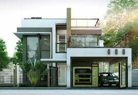 2 floor houses modern house designs series mhd 2014010 features a 4 bedroom 2