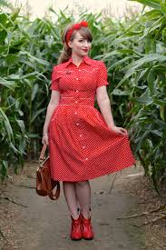 rockabilly western win a dress from happy yellow dress