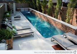 small lap pools small lap pool designs 15 great small swimming pools ideas home