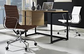 furniture mid century modern desks desk ideas with glass