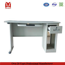 Single Desk Design Single Person Stainless Steel Furniture Modern Office Table Photos