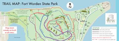 Green Circle Trail Map Friends Of Fort Worden Maps