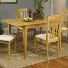 Coaster Dining Room Table 5 Piece Butterfly Leaf Dining Set In Maple Finish By Coaster 4267