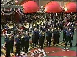 brentwood high school band in 2001 macy s thanksgiving day parade