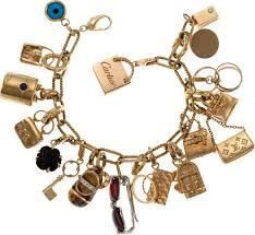 cartier bracelet charm images 84 best vintage gold charm bracelet images vintage jpg