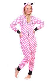 pink polka dot onesie pajamas ragstock