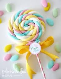 easter marshmallow candy piruletas de nubes de azucar easy easter marshmallow pops