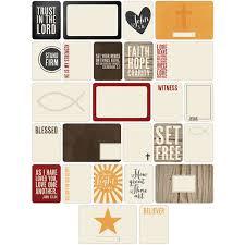 project themed cards 60 pkg christian joann