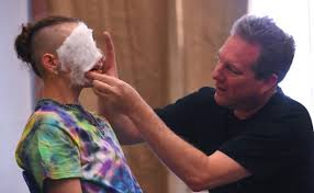 special effects make up photos special effects makeup artist brian stock gives