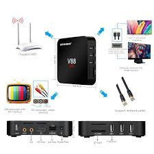 amazon tv black friday sold out amazon com v88 android tv box 6 0 4k 3d smart tv moving box