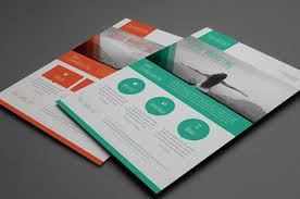 indesign flyer templates free download free indesign brochure