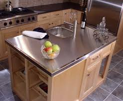 Stainless Steel Kitchen Countertops Inspiration Gallery Old Fourseasons Metals