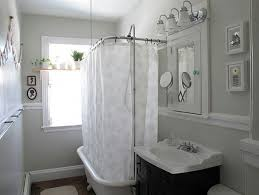 Bathroom Curtain Ideas For Shower Shower Curtain Ideas For Small Bathrooms Pmcshop