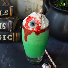 eye of toad halloween milkshake recipe wonkywonderful