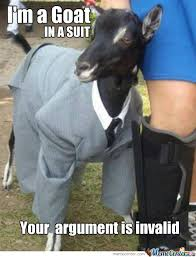 Funny Goat Memes - goat in a suit by bakoahmed meme center