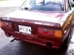 toyota corolla 83 toyota corolla 1983 sr5 hardtop