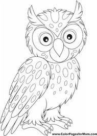 owl coloring pages for kids u2026 pinteres u2026