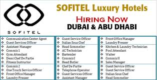 Front Desk Jobs Hiring by Jobs Hiring Open At Sofitel Group Uae Apply Now Gulf Jobs Hiring
